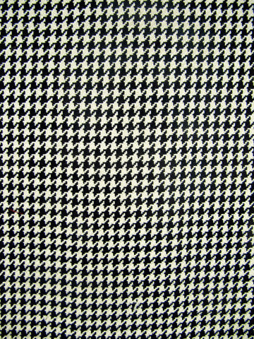 HOUNDSTOOTH D2286 BLACK/ANTIQUE WHITE
