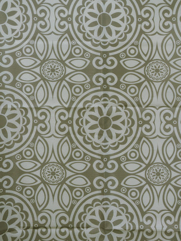 taupe faux silk, neutral suzani drapery fabric, heutral faux silk drapery fabric