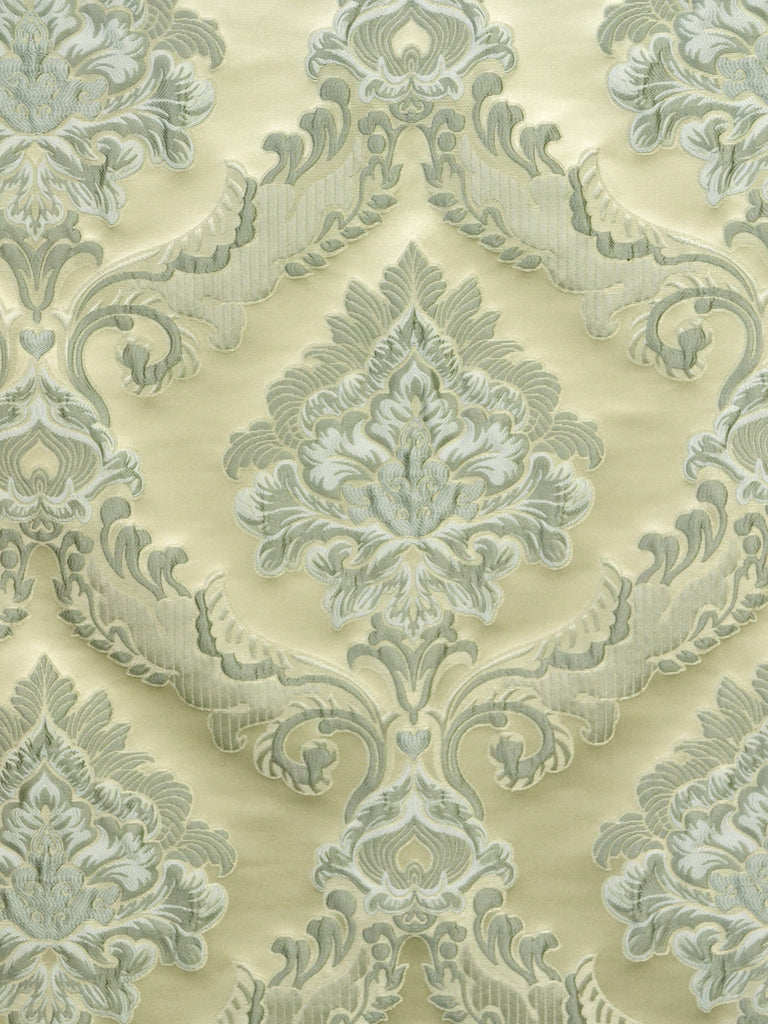 damask fabric, medallion fabric, designer fabric
