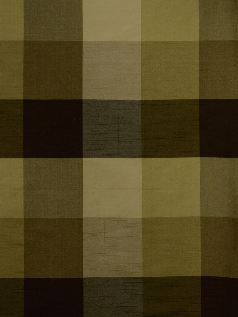 umber check silk fabrics, large check drapery fabrics, best online fabric store in atlanta