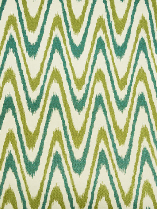 chevron upholstery fabrics, teal flamestitch prints, teal chevron prints