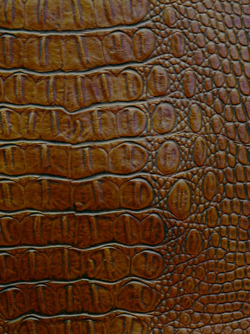 faux leather, crocodile skin, vinyls