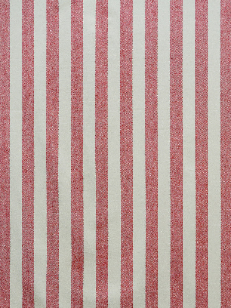 red stripe fabric, red drapery fabric, internet fabric store