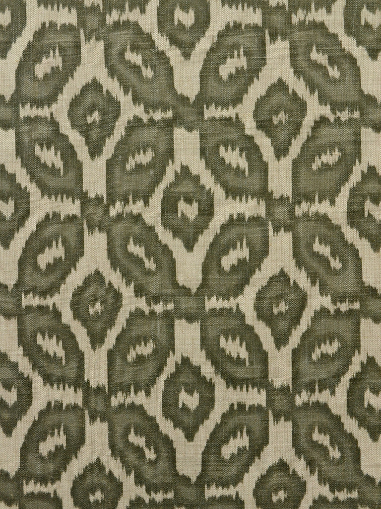 ikat print, geometric print, drapery fabric by the yard