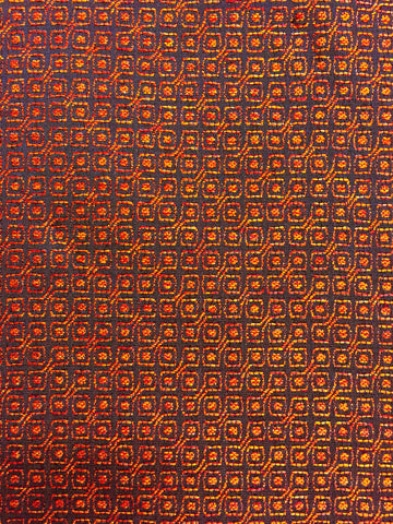 geometric upholstery fabric, orange upholstery fabric, designer fabric