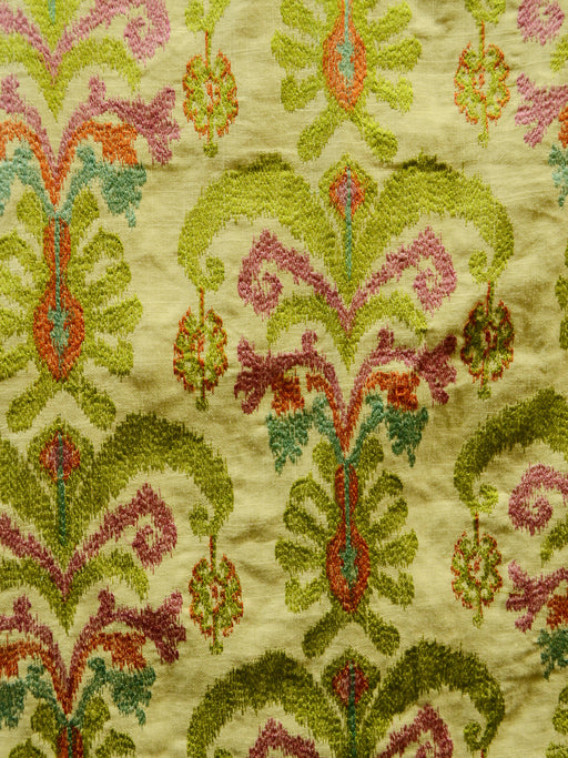 embroidered fabric, kilim fabric, designer fabric