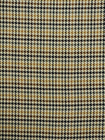 neutral houndstooth plaid, neutral drapery fabric, houndstooth drapery fabric