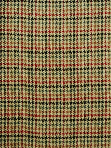 multi-color houndstooth plaid, multi-color drapery fabric, houndstooth drapery fabric