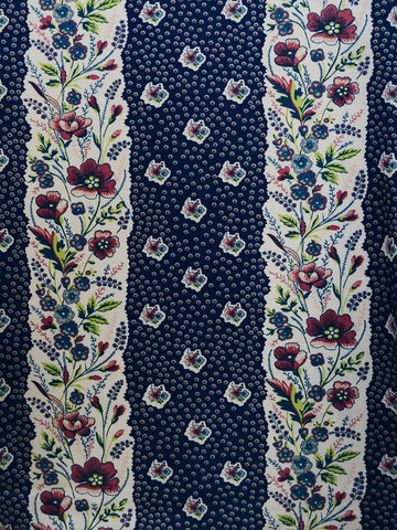 blue floral prints, floral drapery fabrics, best fabric store in atlanta