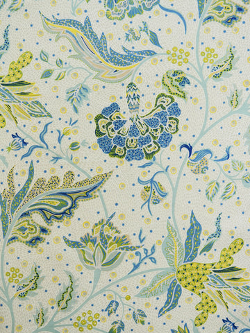 blue and yellow floral prints, floral drapery fabrics, best fabric store in atlanta