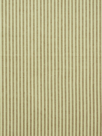 brown ticking stripe fabric, brown drapery fabric, internet fabric store