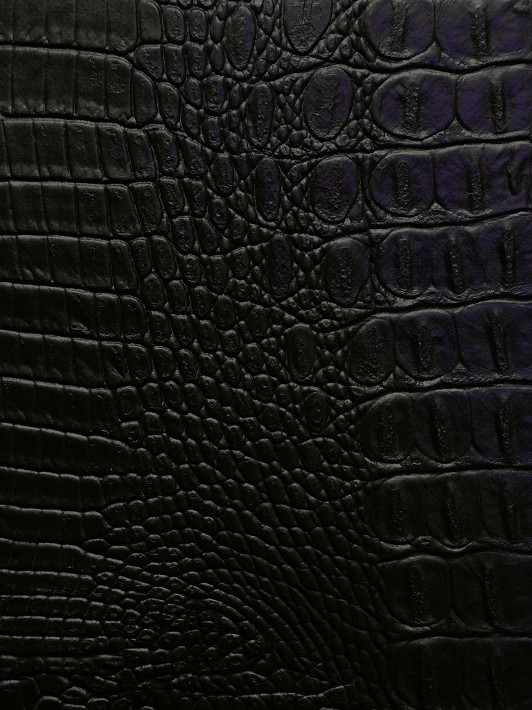 faux leather, alligator hide, vinyls