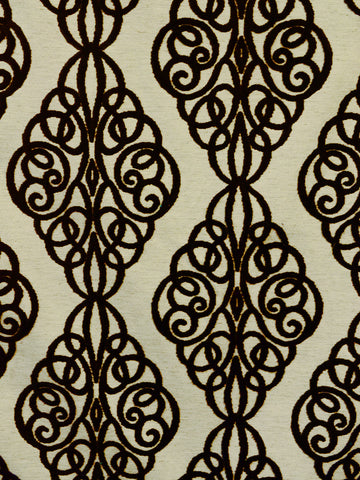 chocolate geometric fabrics, chocolate designer fabrics, chocolate home decor
