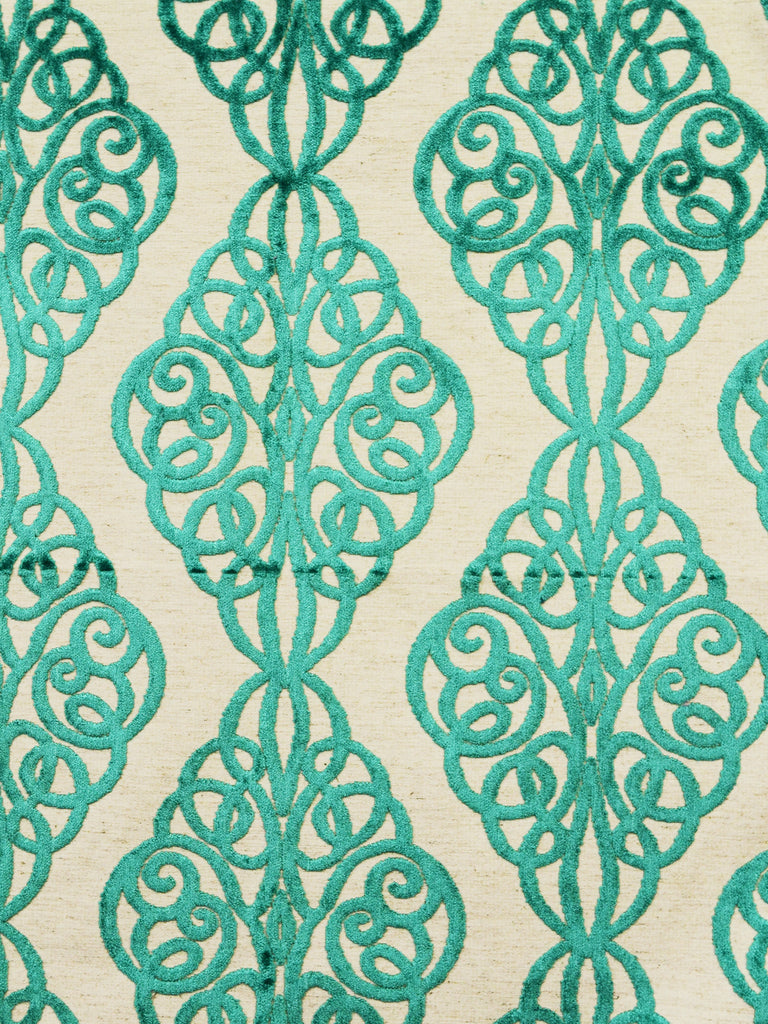 emerald geometric fabrics, emerald designer fabrics, emerald home decor