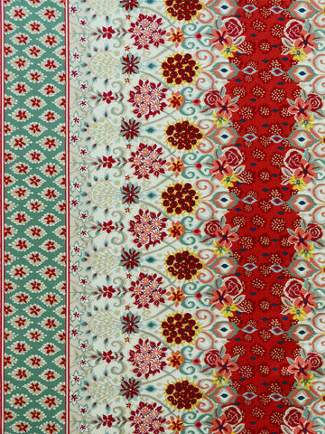 red floral prints, floral drapery fabrics, best fabric store in atlanta