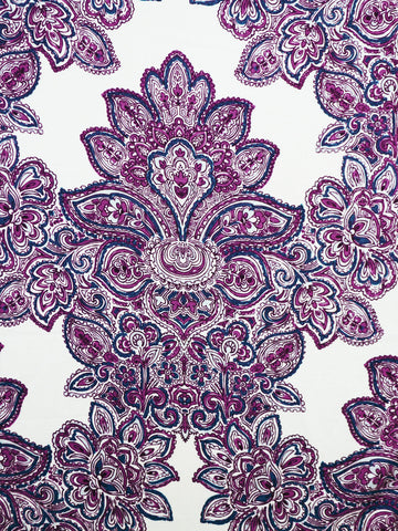 purple damask prints, damask drapery fabrics, best fabric store in atlanta