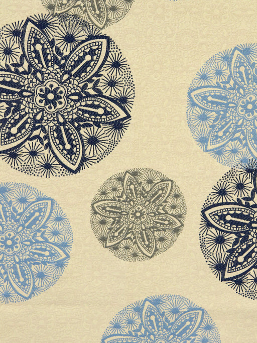 suzani fabrics, blue and gray, latest trends