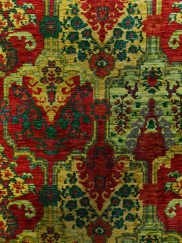 kilim upholstery fabric, ikat upholstery fabric, multi colored ikat fabric