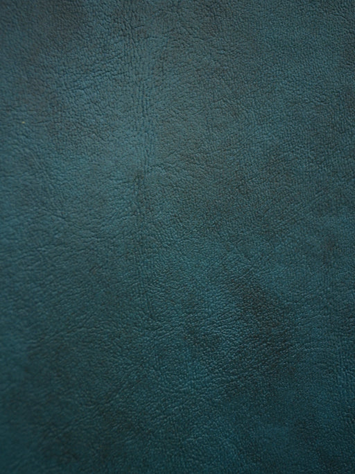teal faux leather, teal cow hide, teal green vinyl
