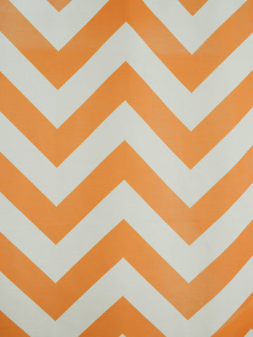 CHEVRON 1 ORANGE (Sheer)