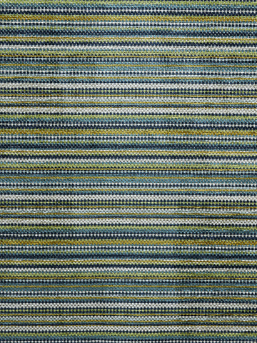 blue and green stripes, blue designer fabric, striped upholstery fabric