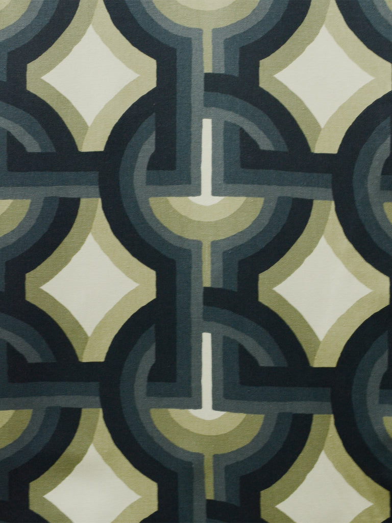 geometric print, designer fabric, home decor