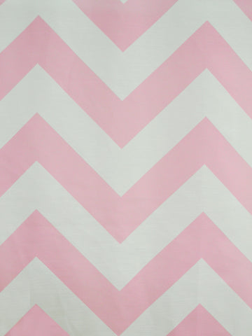 CHEVRON 1 BABY PINK (Sheer)