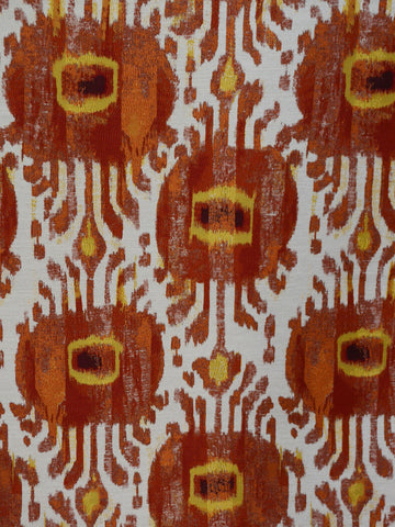 red kilim print, kilim upholstey fabric, best fabric store in atlanta