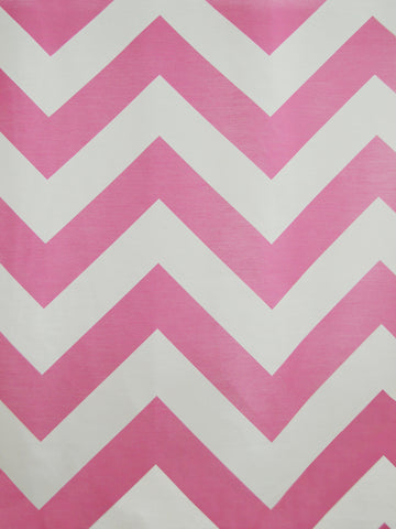 CHEVRON 1 HOT PINK (Sheer)