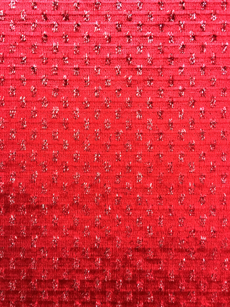 shiny cranberry fabric, cranberry drapery fabric, cranberry novelty fabric