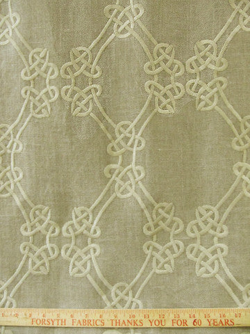 LOOP EMBROIDERY JUTE (Sheer)