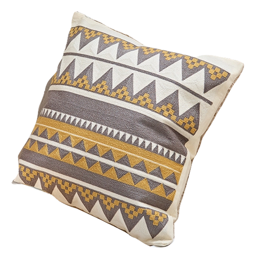 TRIBAL EMBROIDERY PILLOW COVER