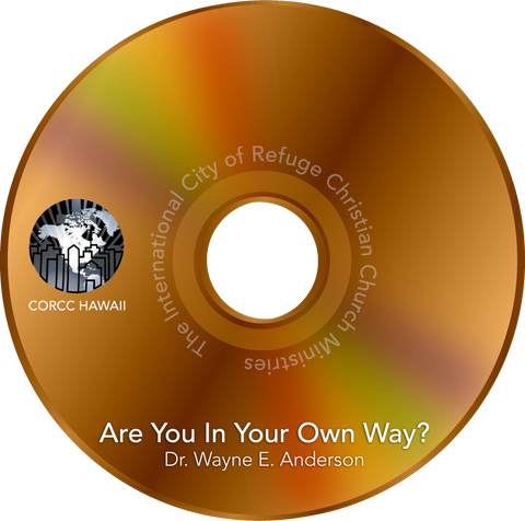 Are You in Your Own Way CD