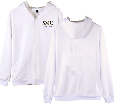 #23 SMU Unisex Hoodie with Zip (5 Colours)