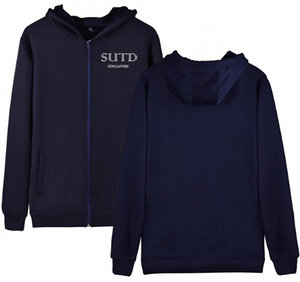 #23 SUTD Unisex Hoodie with Zip (5 Colours)