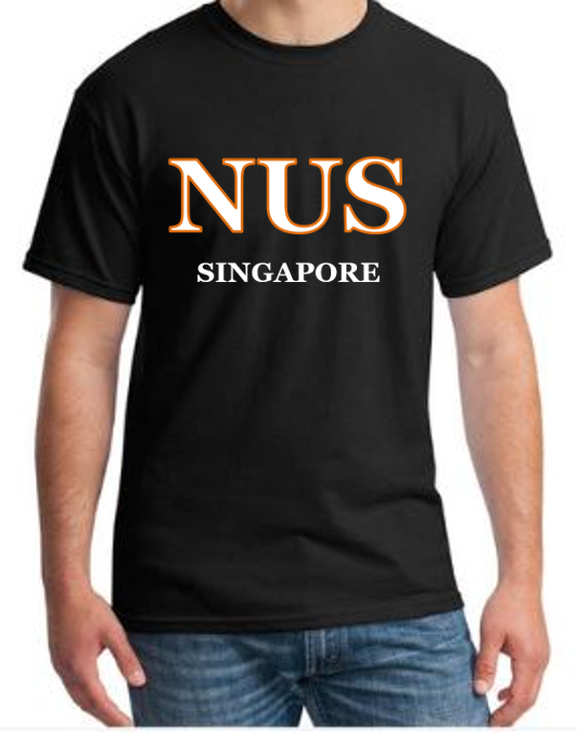 #11 NUS Men T-Shirt (12 Colours)