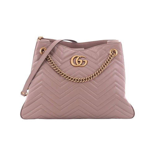 Gucci Women's Violet Old Rose Marmont Matelasse Shoulder Handbag