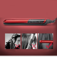 Load image into Gallery viewer, Hair Straightener Comb Beauty Care Flat Iron with LCD Display
