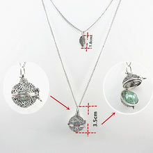 Load image into Gallery viewer, Fashion Ball Pearl Design Two Layer Chain Necklace Pendant