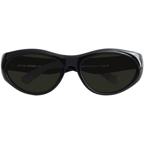 Christian Roth Sunglasses for Optical Affairs – Series 5000 in black front