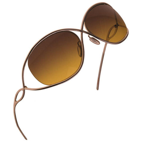 Christian Roth Titanium Sunglasses - X-treme - in gold right