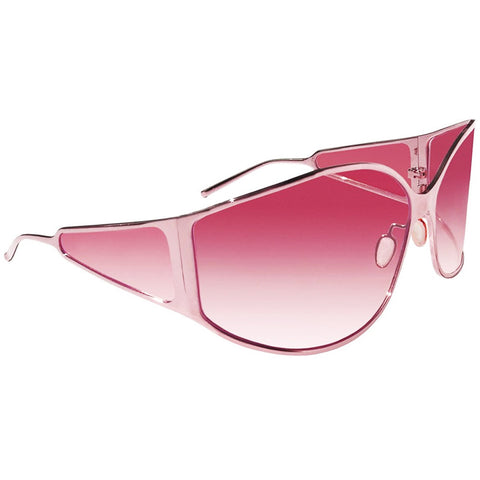 Christian Roth titanium sunglasses 4 Your Eyes Only Vol.2 in pink left