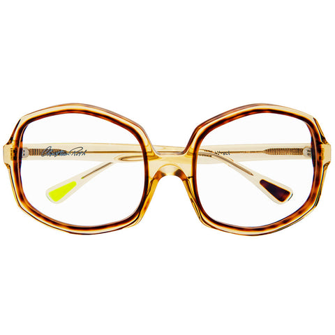 Large octagon luxury eyeglasses by Christian Roth