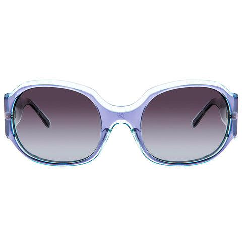 Christian Roth Sunglasses - Double the Dazzle - in shades of transparent blues