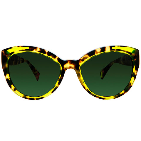 Christian Roth luxury tortoise  cat eye sunglasses