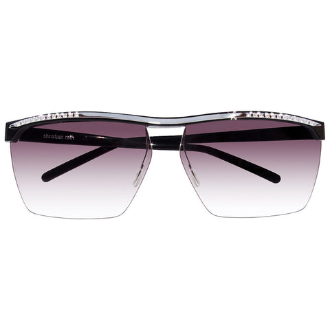 Christian Roth Sunglasses - Girls Best Friends - with 0.35 CARAT DIAMONDS set on sterling silver