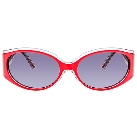 Christian Roth Sunglasses - Heavenly Sleek - in red and transparent lining