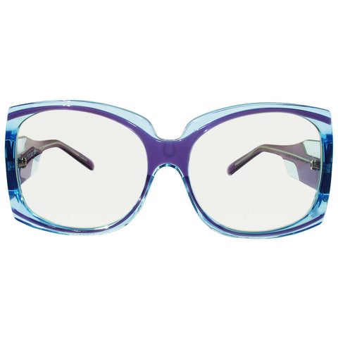Christian Roth Sunglasses - Hippie-de-Luxe - in shades of transparent blues