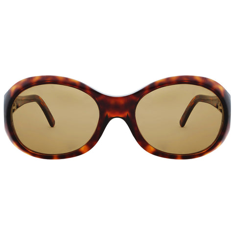 Christian Roth Sunglasses - Ms. Perfect - in glossy dark amber