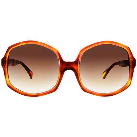 Large octagon designer  sunglasses by Christian Roth